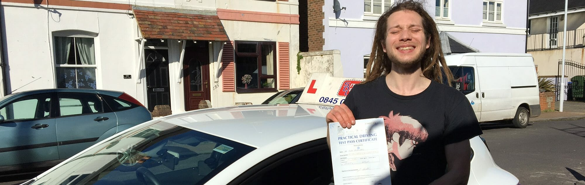 Zero Faults!! Congratulations to Alex of Worthing