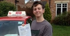 First Time Pass!! Congratulations to Mark Perry from York.