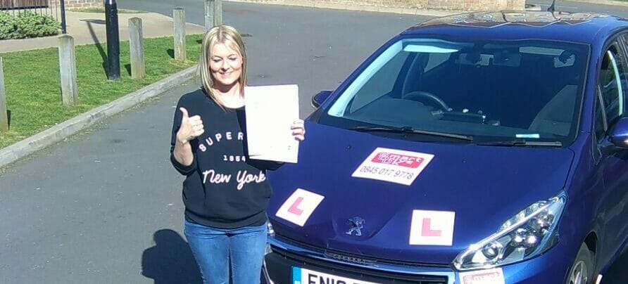 First Time Pass!! Well done to Lisa Brooke from Worthing