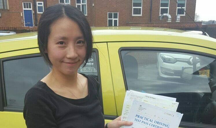 Well done to Wu from Tonbridge