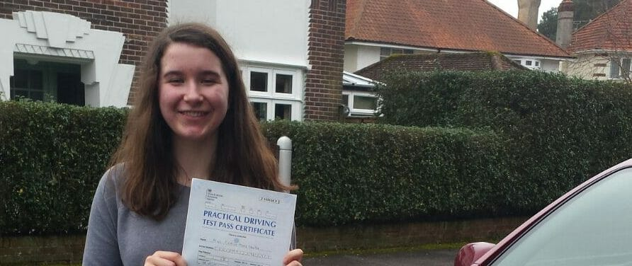 Congratulations to Caitlin Lawlor from Bournemouth