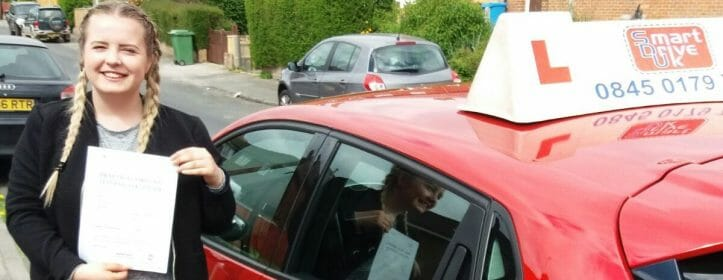First Time Pass !!! Well done to Ella Bretherton from Poole