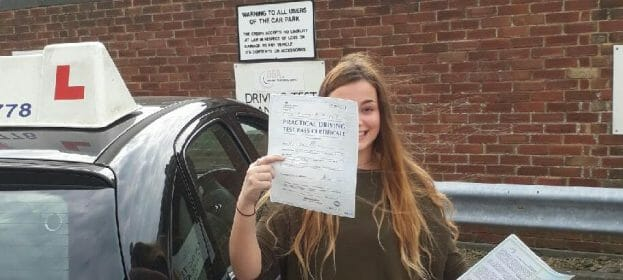 Congratulations to Ella Newton from Worthing
