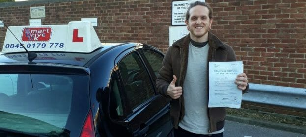 First Time Pass!! Congratulations to Evan Jones from Brighton