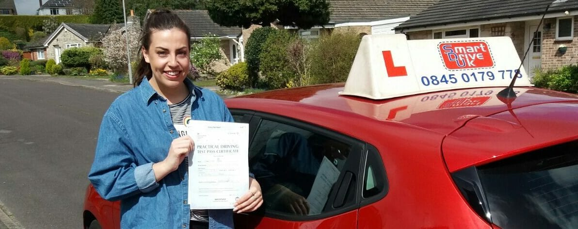 First Time Pass!! Congratulations to Charlotte from Poole