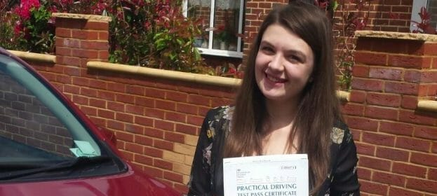 First Time Pass!!! Congratulations to Lara Barclay from Bournemouth