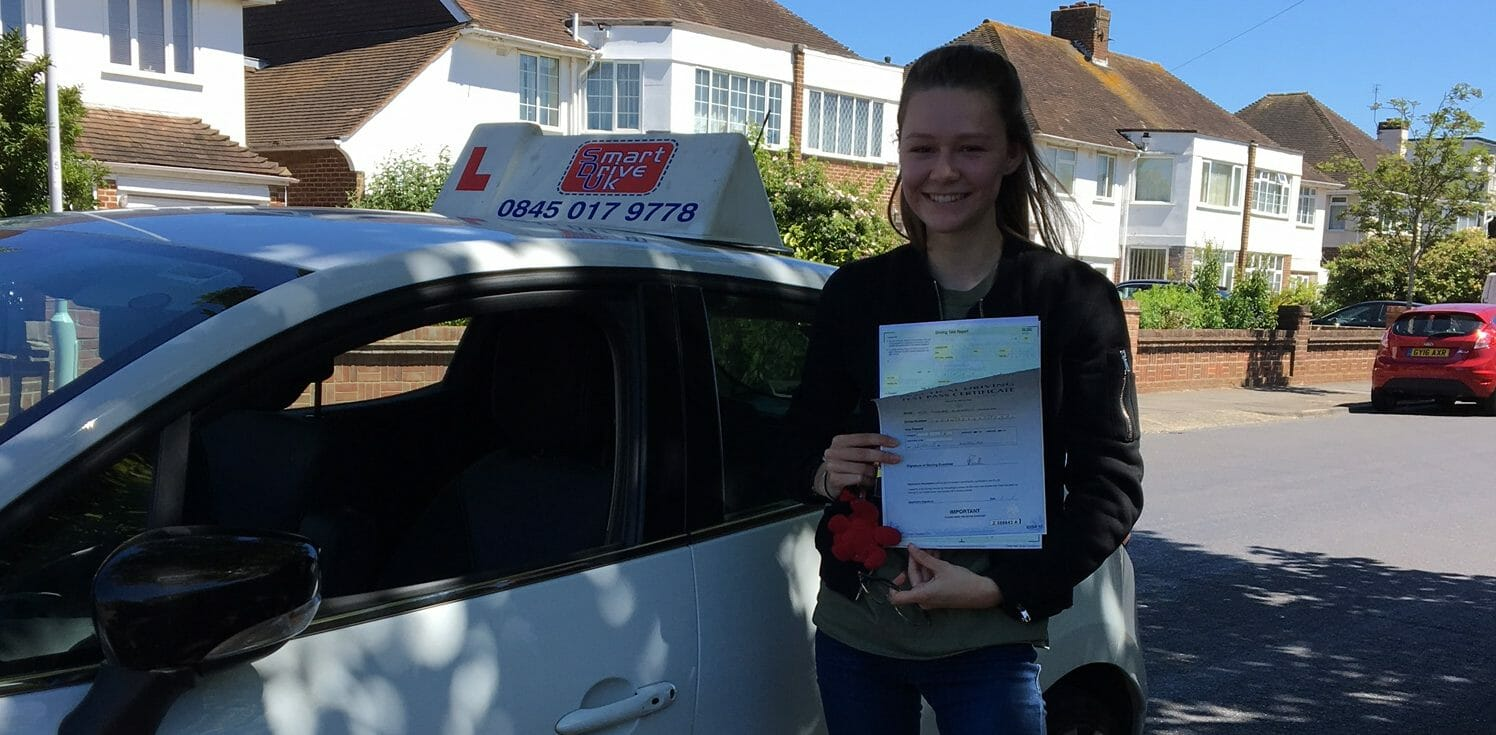 First Time Pass!! Well done to Phoebe from Worthing