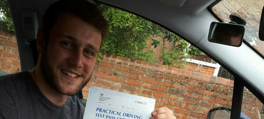 First Time Pass!! Well done to Michael Donlevy of Worthing