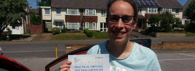 First Time Pass!! Congratulations to Kirsty from Southampton