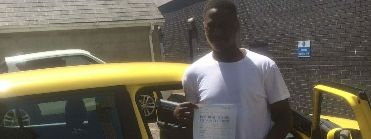 First Time Pass!! Well done to Chris in Bournemouth