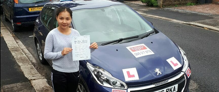 First Time Pass !! Congratulations to Lilly from Worthing