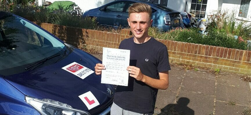 First Time Pass!! Well Done to Jake Swift of Worthing