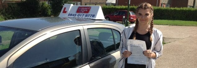 First Time Pass!! Congratulations to Shannon from Rustington near Littlehampton