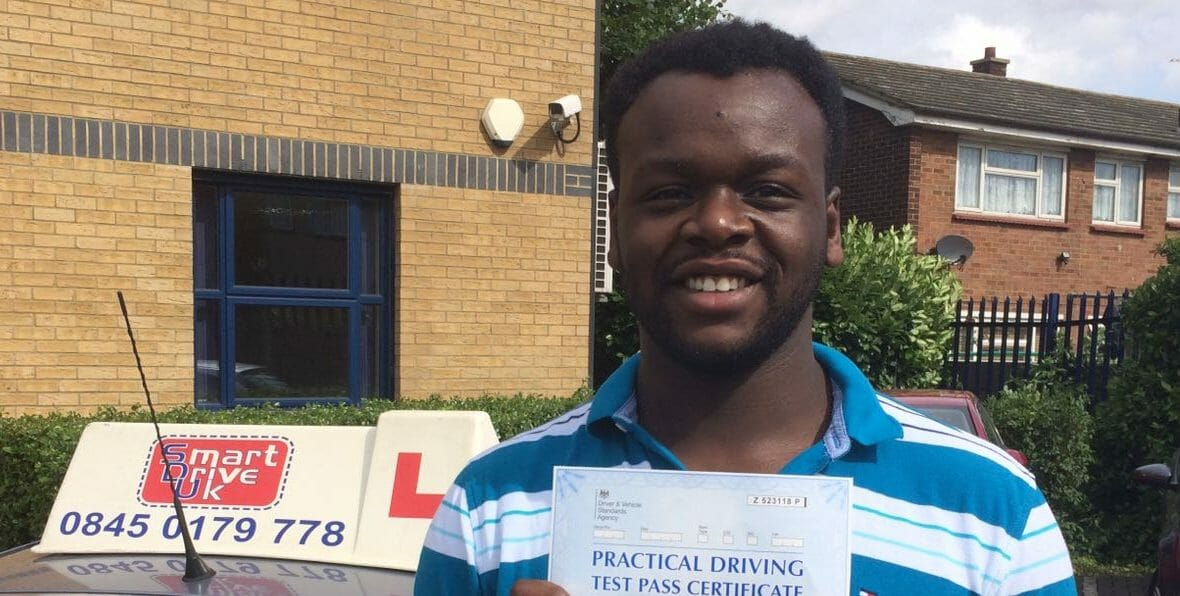 First Time Pass!! Congratulations to Charles from South Ockendon