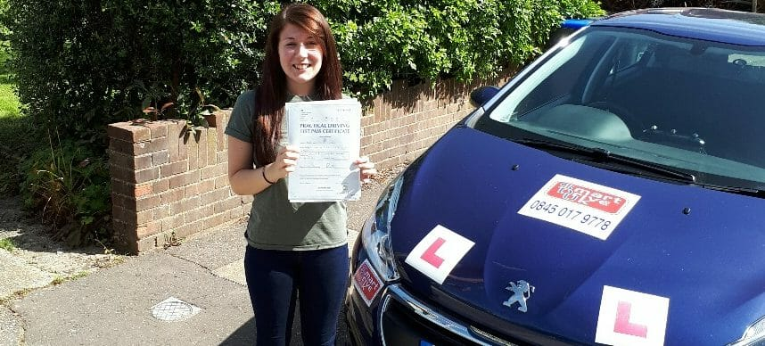 First Time Pass!! Well done to Ann-Marie Mansell from Worthing