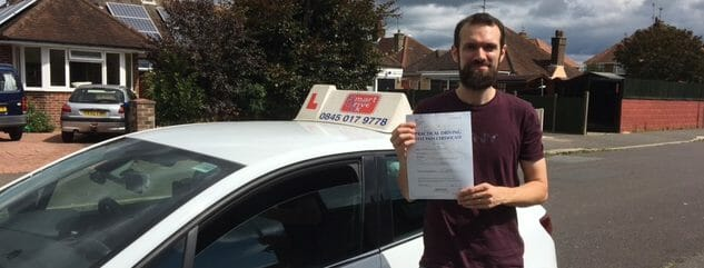Congratulations to Andrew of Worthing
