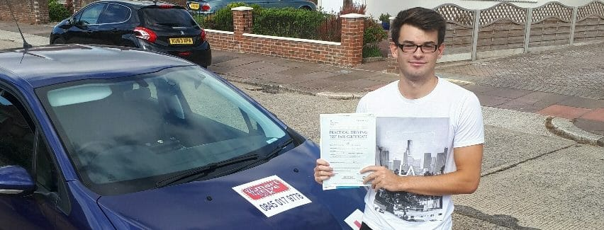 First Time Pass!! Congratulations Alex Minchell from Worthing