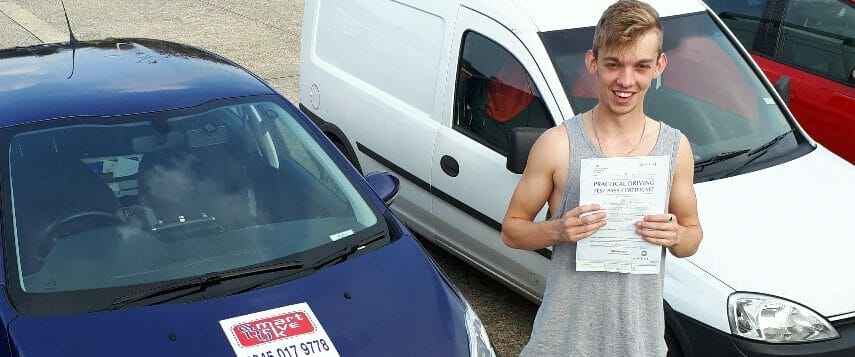 First Time Pass!!! Well done Sam Upperton of Worthing