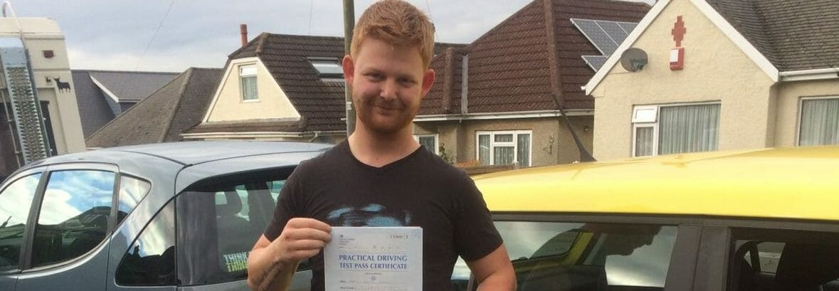 First Time Pass!! Well done Harry Clarke in Bournemouth.