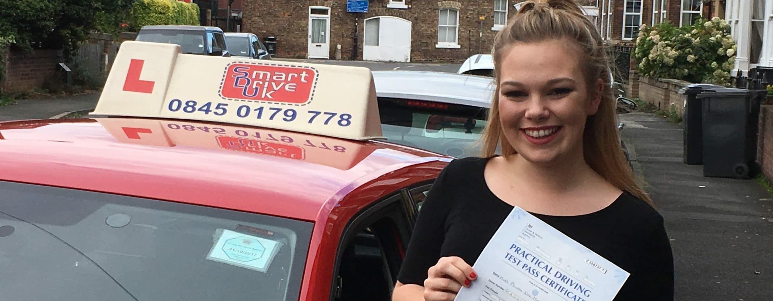 First Time Pass!! Congratulations to Phoebe Mason of York