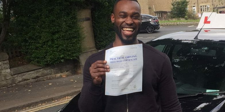 First Time Pass!! Well done to Stefano McCalmen of Huddersfield