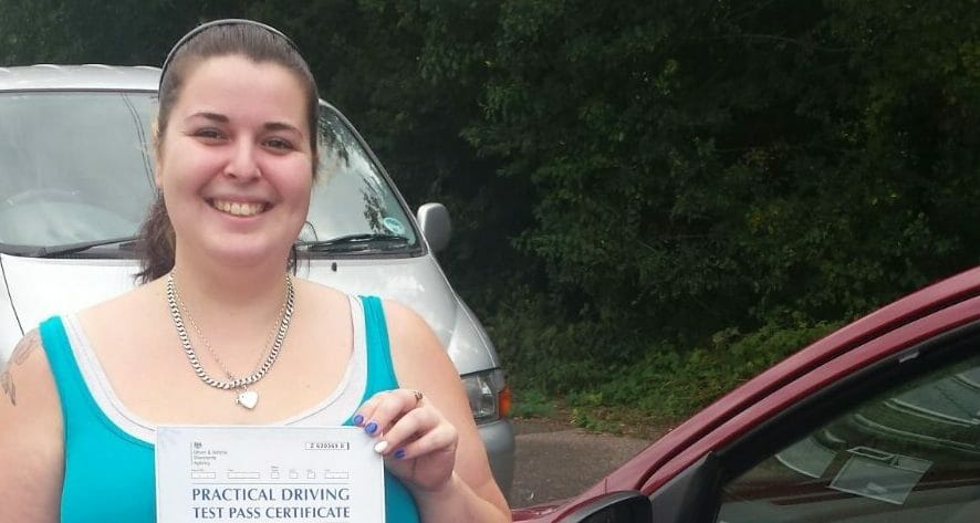 First Time Pass!! Congratulations to Briony Selby from Bournemouth