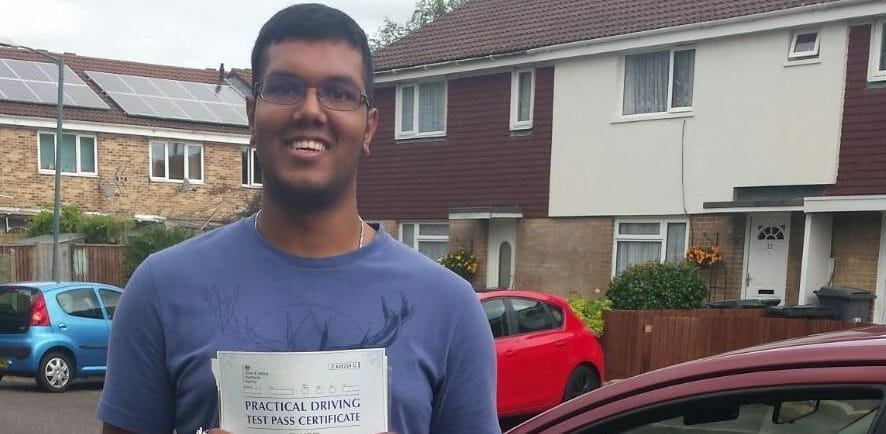 First Time Pass!! Congratulations to Supun Chandrasekara from Bournemouth