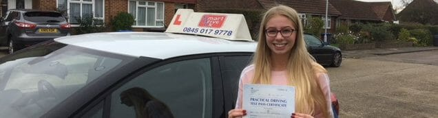 First Time Pass!! Well done to Kayleigh from Worthing