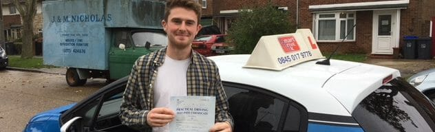 First Time Pass !! Well done to George from Worthing