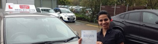 Congratulations to Shweta from Brighton and Hove