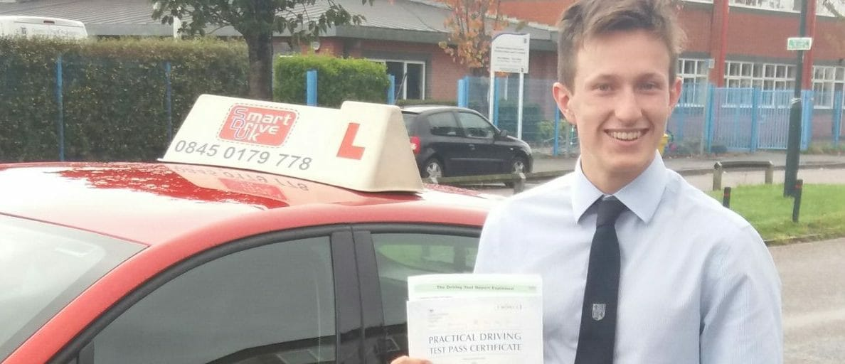 First Time Pass!! Congratulations to James Alder from Poole