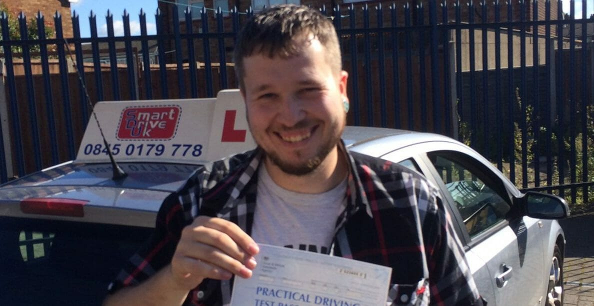 First Time Pass!! Congratulations to Paul Woollard from Grays.