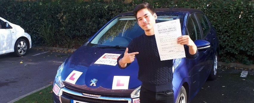 Zero Faults & First Time Pass!!! Well done to John Hampton from Littlehampton