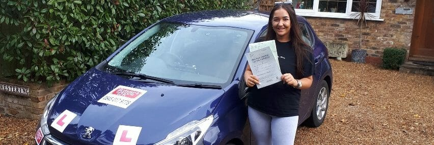 First Time Pass!! Congratulations to Morgan Chiswell of Worthing