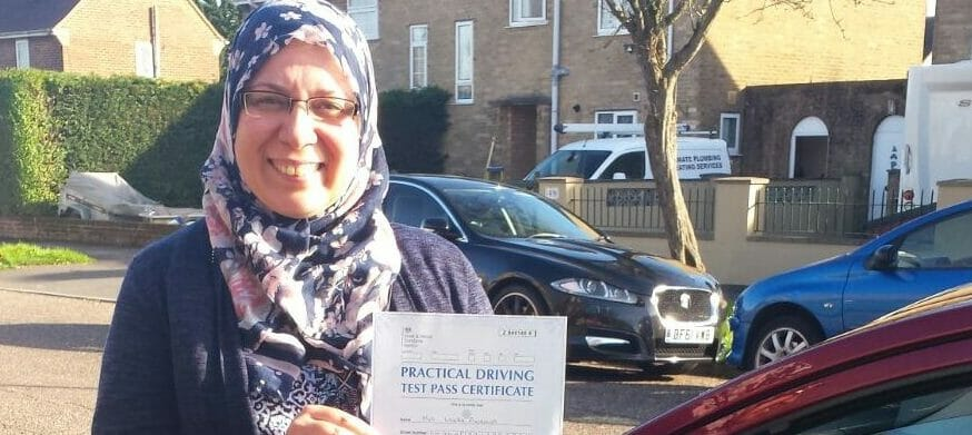 Congratulations to Lynda Ananna from Bournemouth