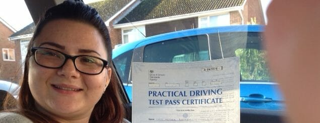Congratulations to Lucy from Worthing. . FIRST TIME PASS!!