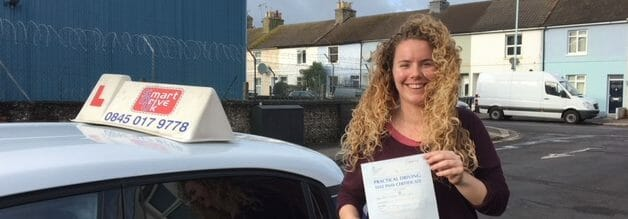 First Time Pass!! Congratulations to Victoria from Worthing