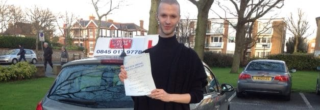 Well done Arran Shurvinton from Worthing