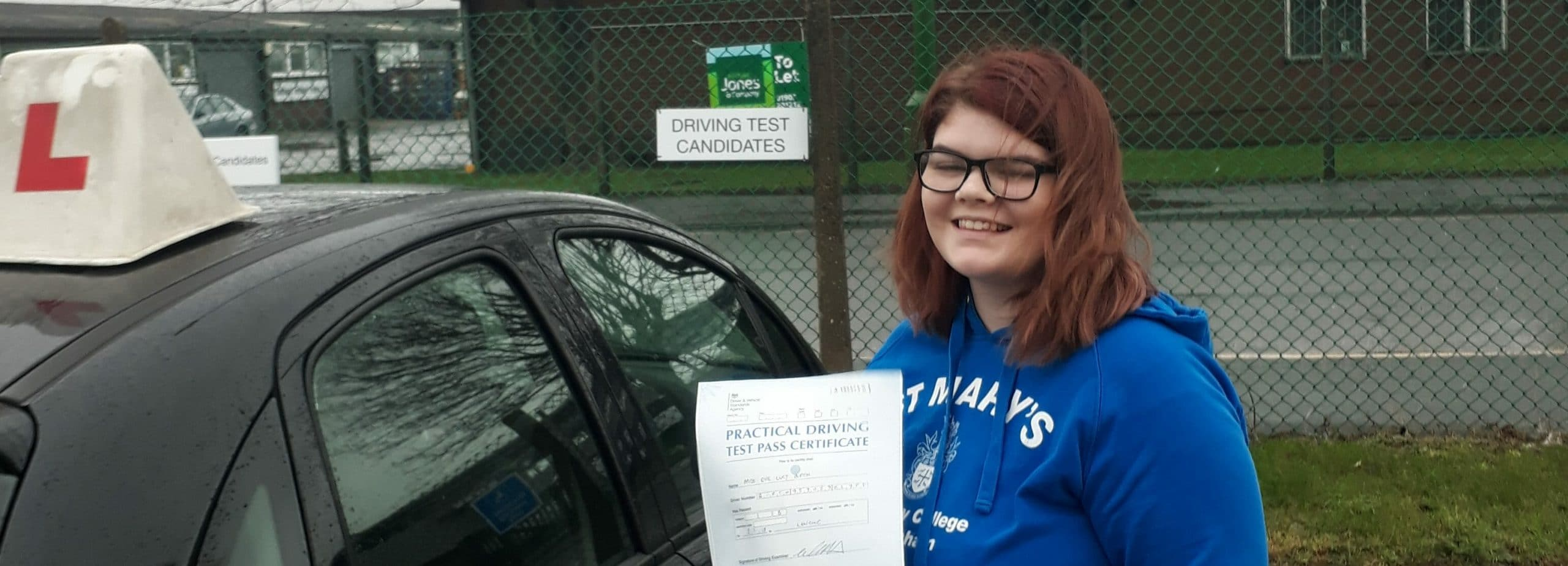 Well done to Eve Birch of Worthing