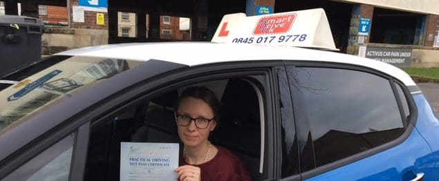 First Time Pass!! Congratulations to Rasa of Worthing