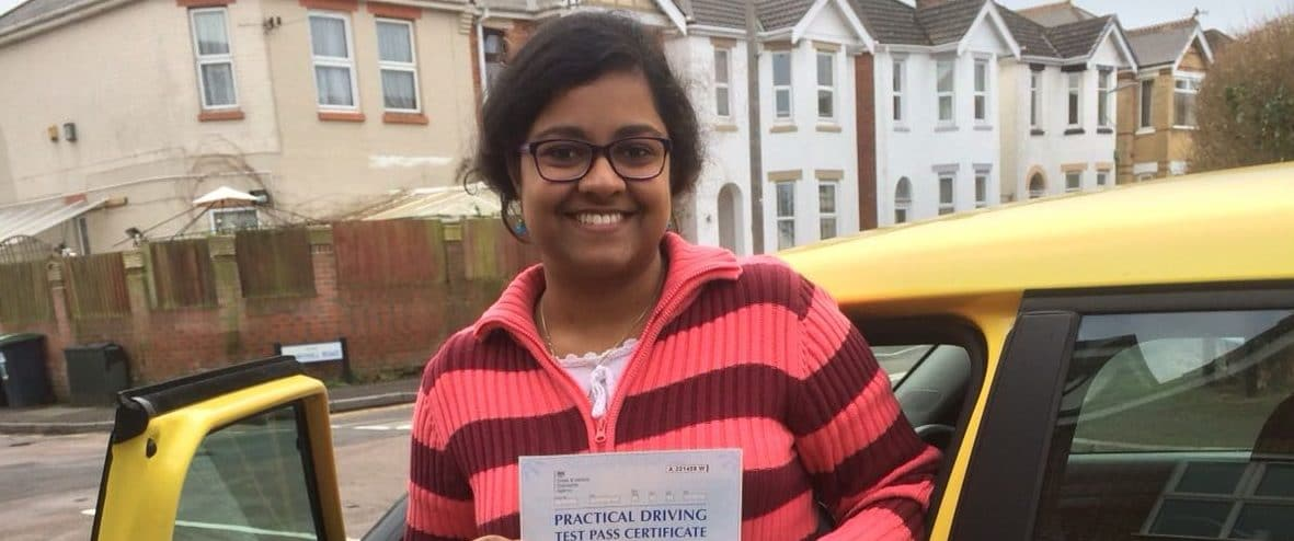 Congratulations to Urvashi from Bournemouth.