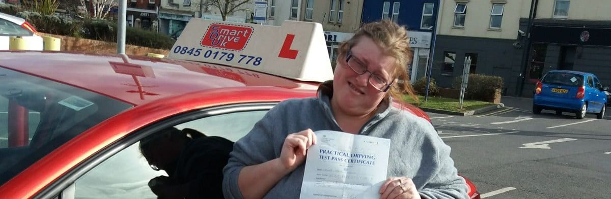 First Time Pass!! Congratulations to Tanya Higgins from Poole