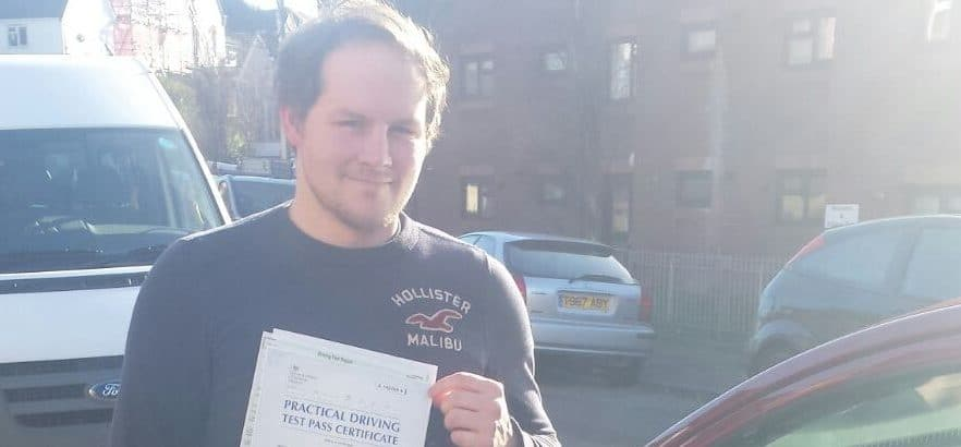 First Time Pass !! Congratulations to Aaron Bailey from Bournemouth