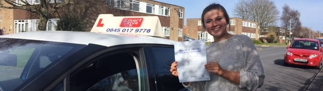 First Time Pass !! Congratulations to Amelia of Worthing