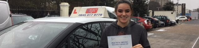 First Time Pass !! Huge Congratulations to Rebecca from Worthing