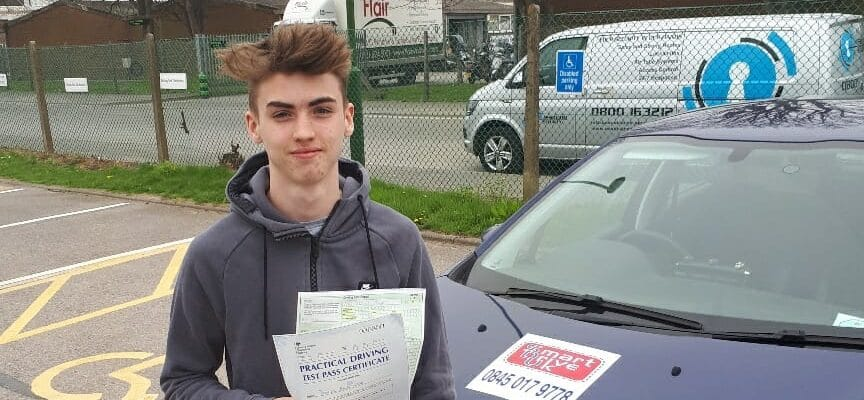First Time Pass !! Well done to Daniel Rose of Worthing