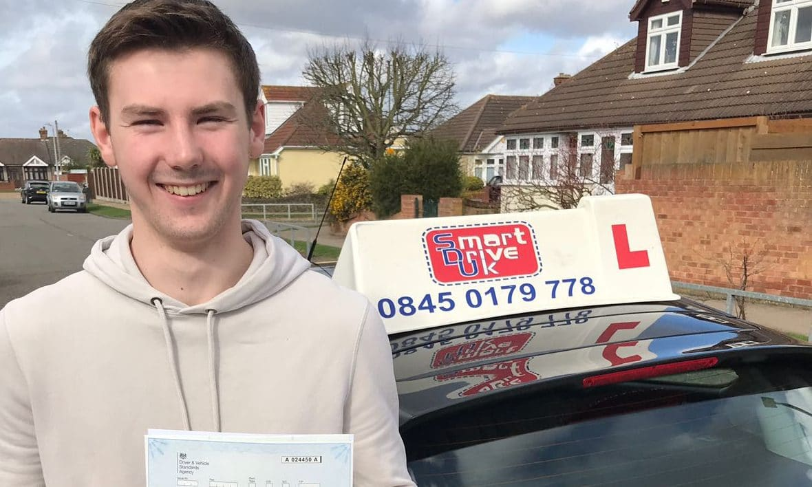 First Time Pass!! Congratulations to Aidan Cook of Grays