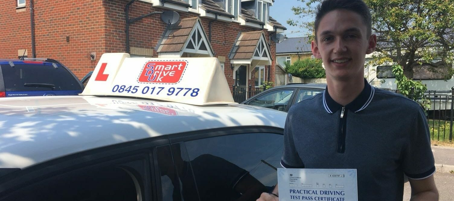 First Time Pass !! Well done to Luke from Worthing