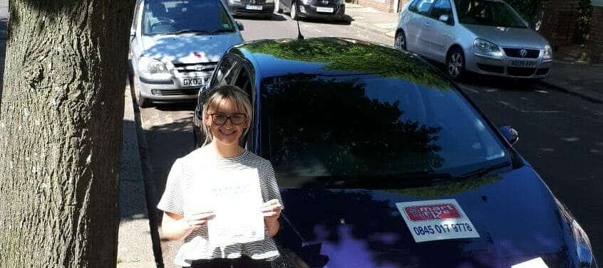 First Time Pass !! Well done to Sophie from Worthing