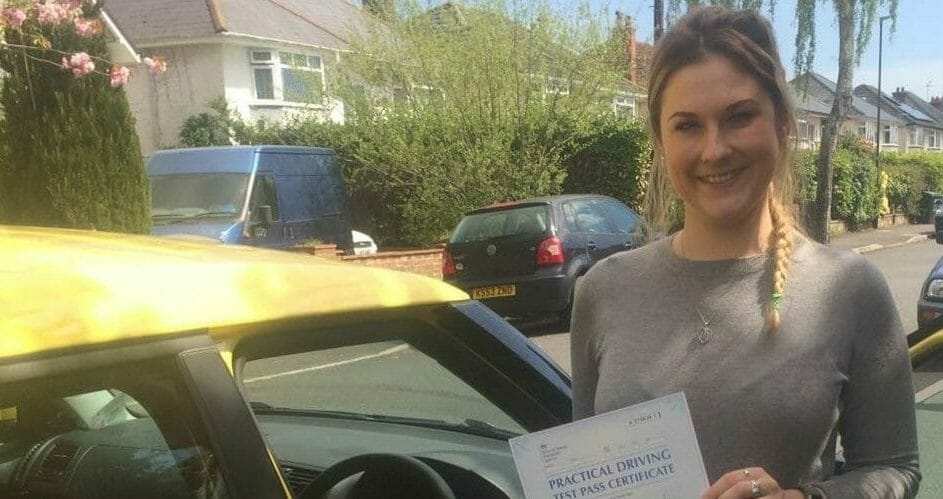 First Time Pass !! Well Done to Claire from Bournemouth
